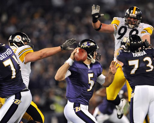 Look Ahead: It's Ravens-Steelers Time Again
