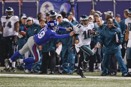 Top 10 Things We Love About the Eagles-GiantsRivalry