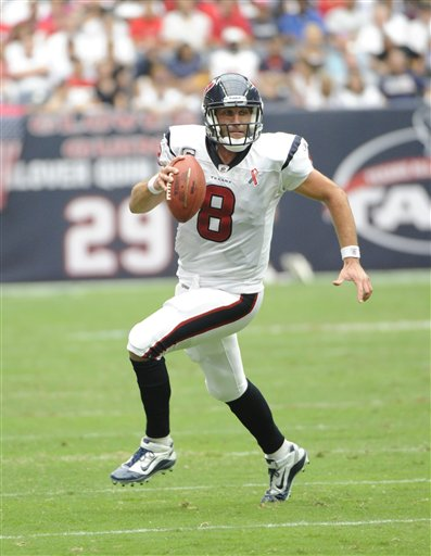 This Date in Football: Happy Birthday, Matt Schaub