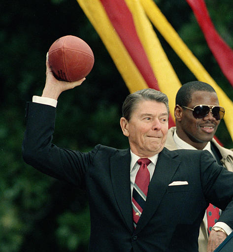 Celebrate Reagan Coin Flip Weekend!