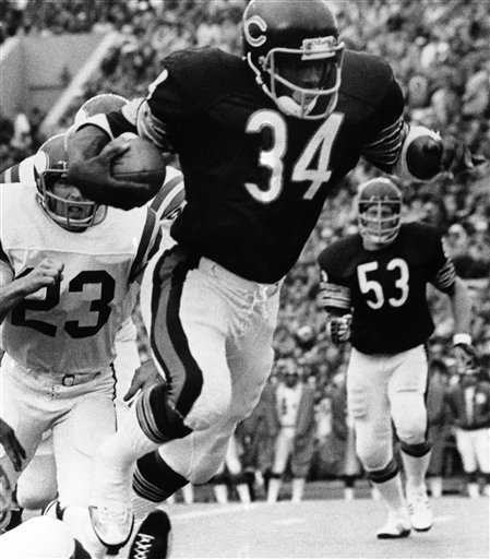 Walter Payton: What They'reSaying