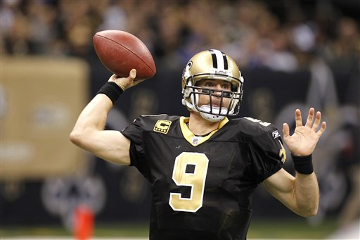 Films Encore: Five TDs are a Brees
