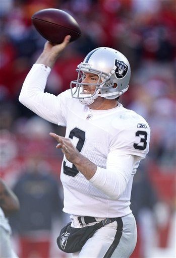 Cosell's Watching: Raiders Boosted & Burned by Inconsistent Palmer
