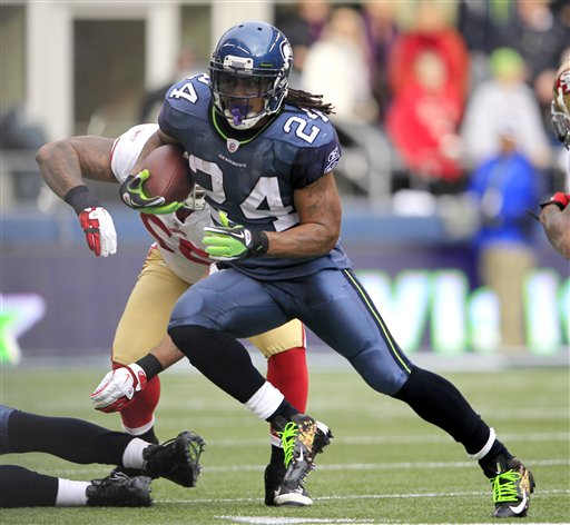 Cosell's Watching: Beast Mode runs like Adrian Peterson