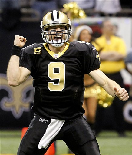 Drew Brees in the Raw