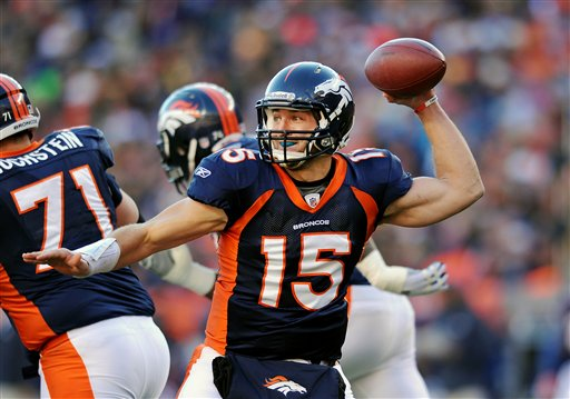 Image result for tim tebow throwing the ball