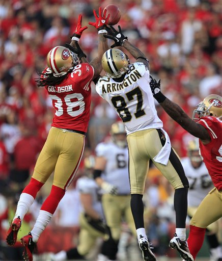 Cosell's Watching the Divisionals: Niners Pass Rush was Gold