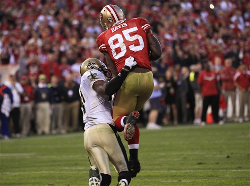 Divisional Anatomy: Vernon Davis' Game Winner
