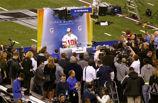 Behind the Scenes at Super Bowl XLVI