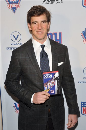 Behind the Scenes of the New York Giants Super Bowl DVD Blue Carpet Premiere