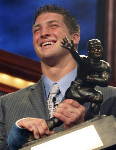 It's Tebow-time on Top 10