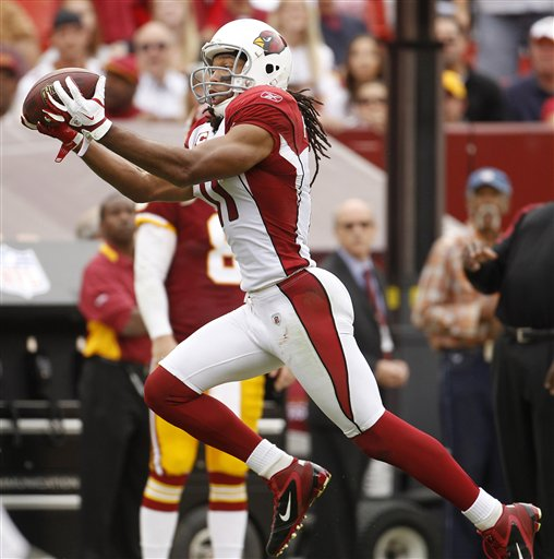 Top 100: Will Cardinals' Larry Fitzgerald break the Top 10?