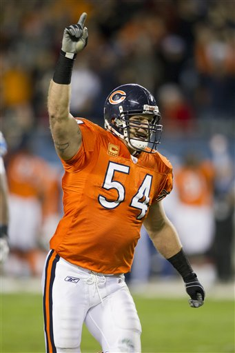 Top 100: Will Brian Urlacher Stay in the Top50?