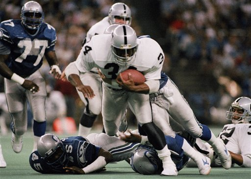 This Date in Football: Bo Jackson is Back in the NFL