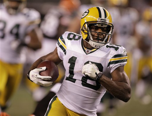 TDIF: Randall Cobb Ties NFL Kickoff Return Record
