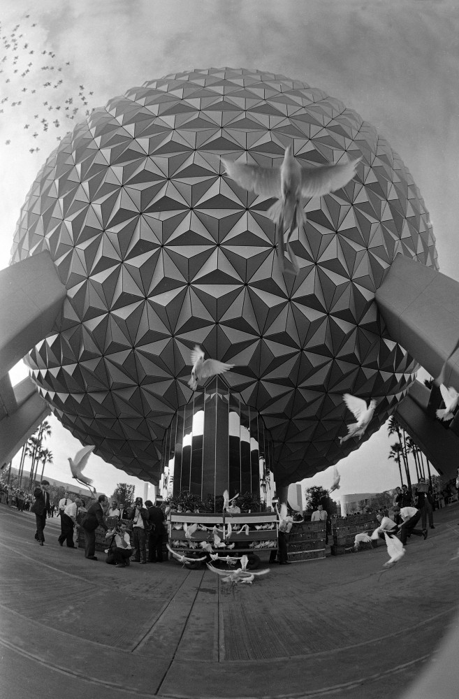 Epcot in Disney World.