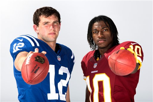 New 'Hey Rookie' to feature Luck, RGIII, and Justin Blackmon