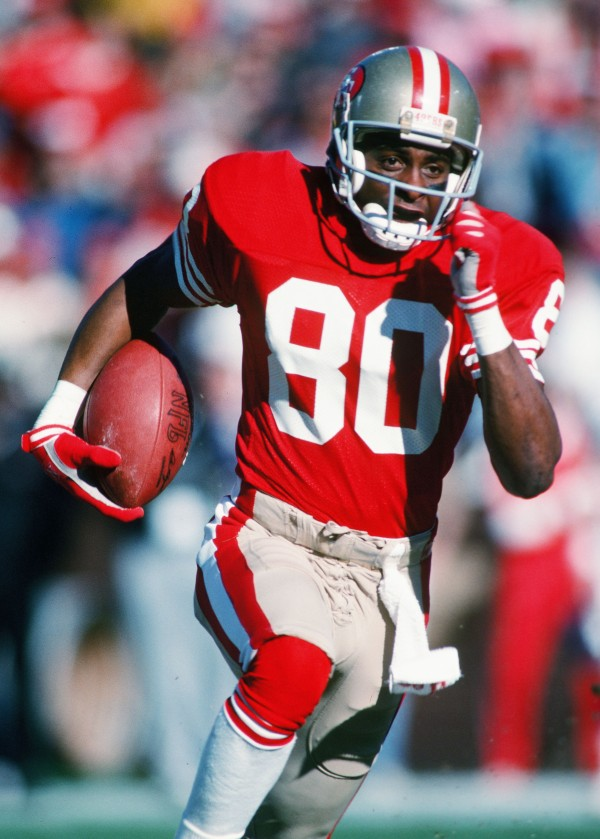 TDIF: Jerry Rice Breaks Career-TD Record
