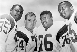 First Look at 'Fearsome Foursome: A Football Life'