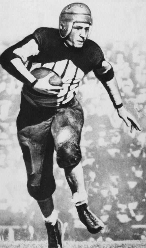 Former RB Harold Grange of the Chicago Bears.