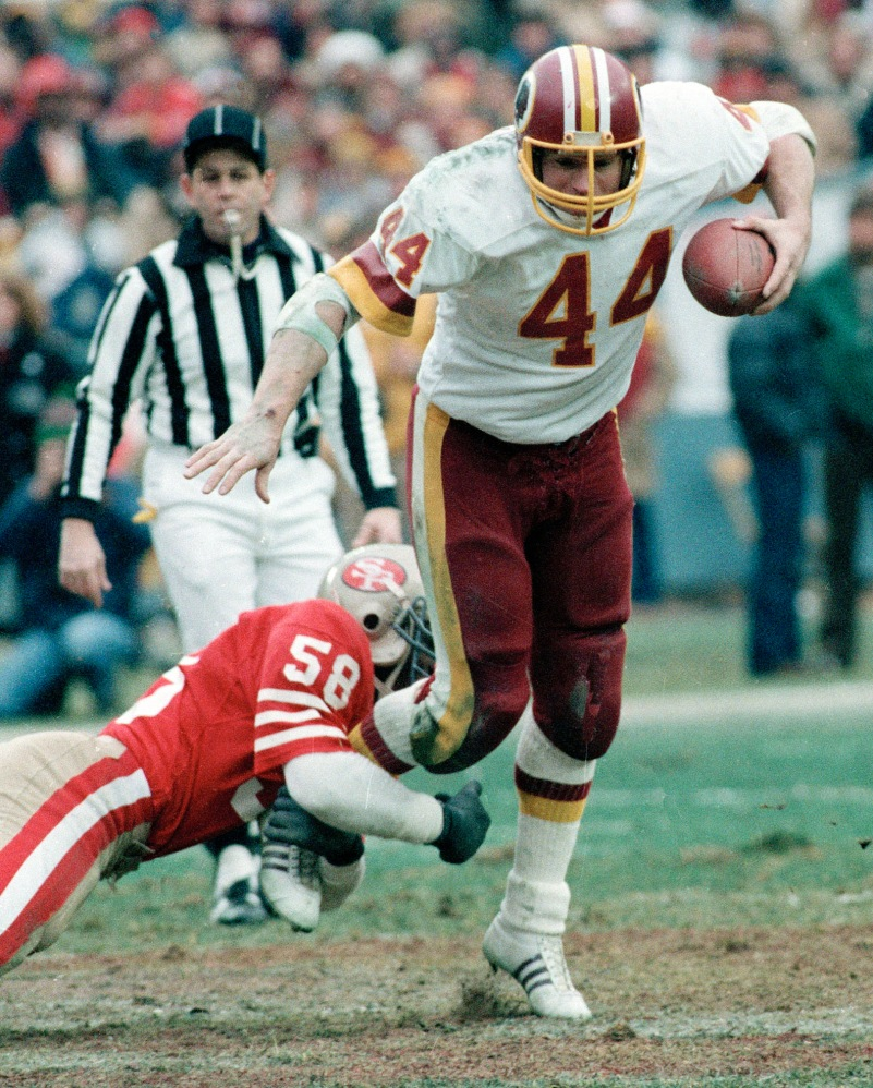 Former RB John Riggins of the Washington Redskins.