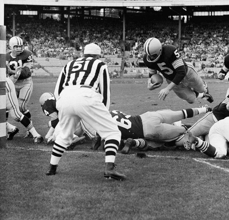 Former RB Paul Hornung of the Green Bay Packers.