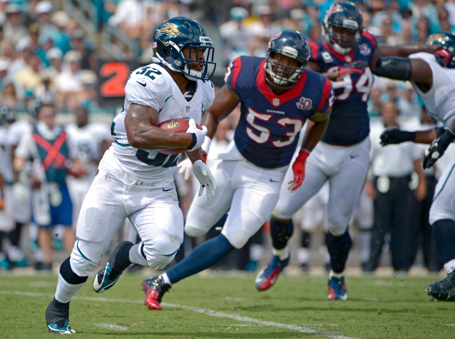 RB Maurice Jones-Drew of the Jacksonville Jaguars.
