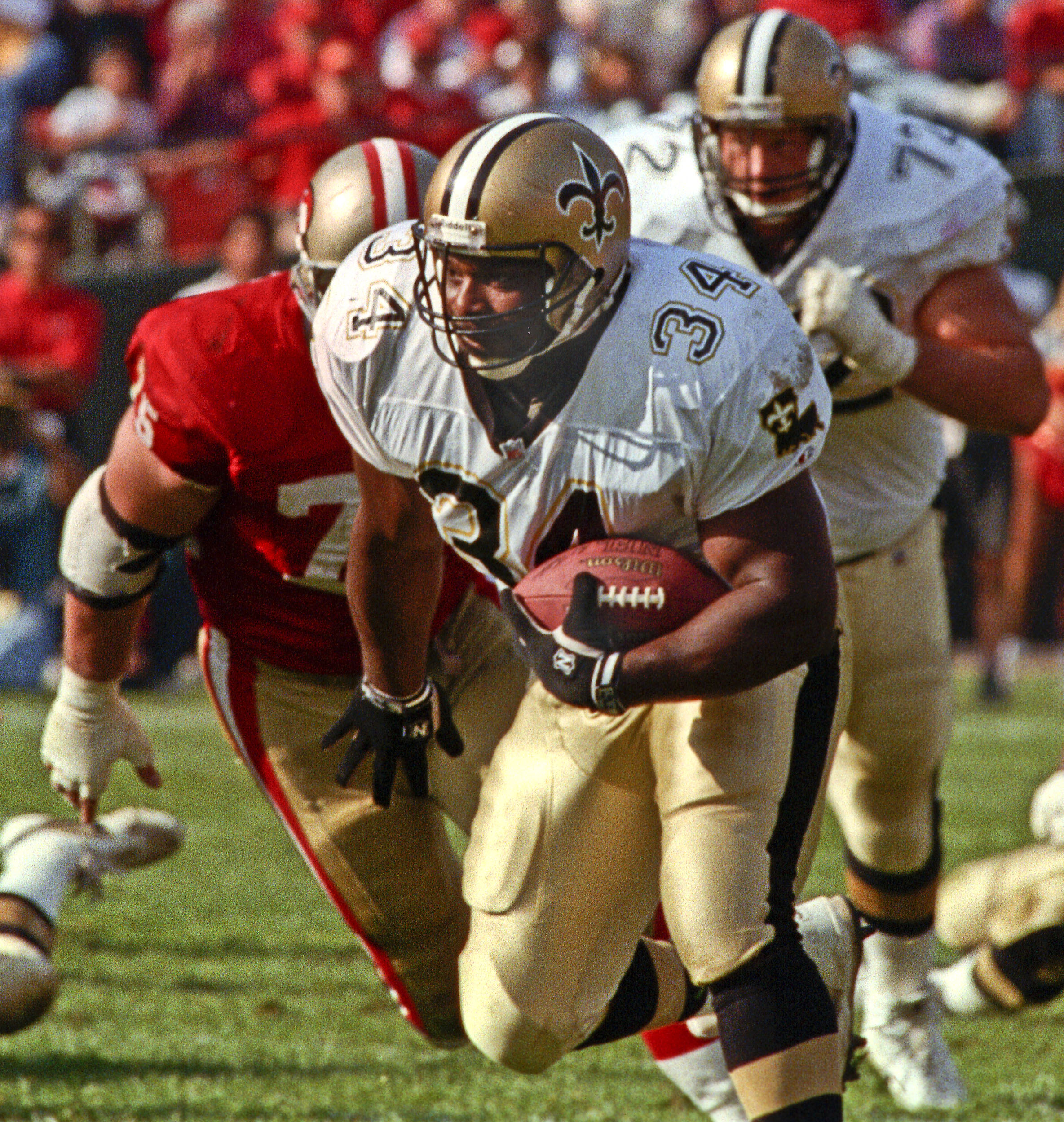 Former RB Craig Heyward of the New Orleans Saints.