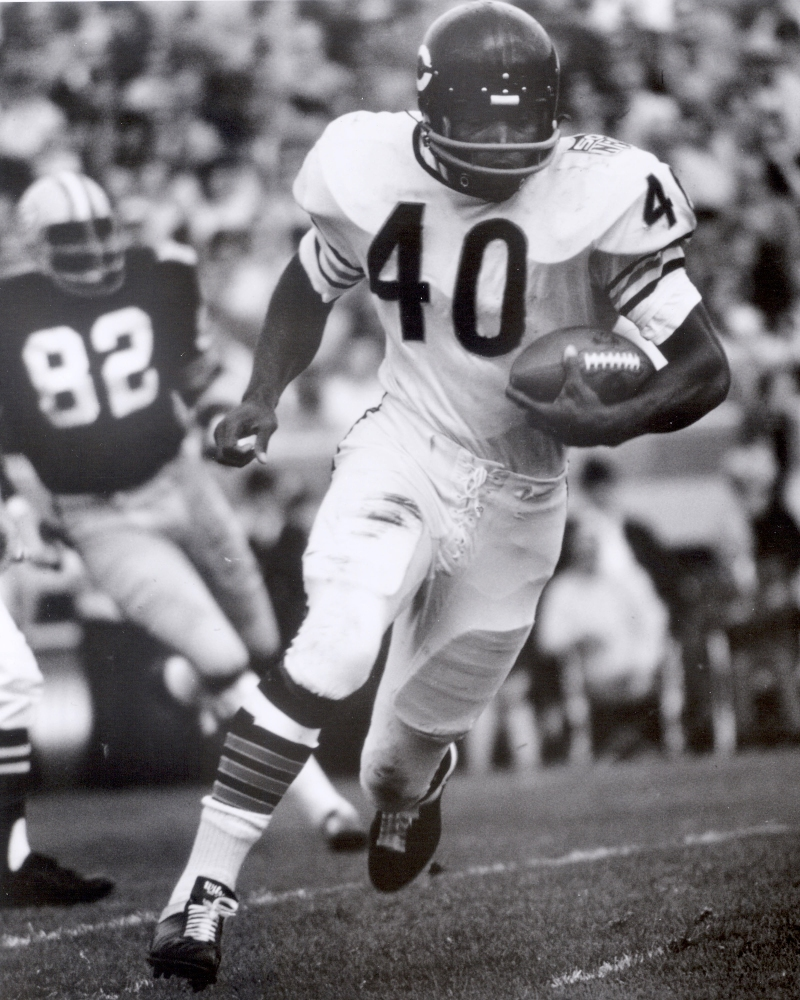 Former RB Gale Sayers of the Chicago Bears.