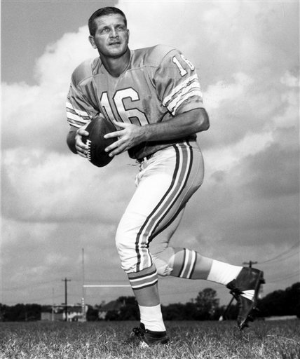 TDIF: George Blanda Tosses Seven Touchdowns in One Game