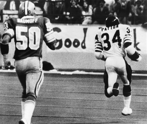 TDIF: Walter Payton Runs Into Record Books