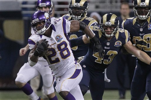Peterson Chasing Dickerson's Record