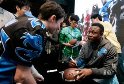 A Summer With Barry – 'Barry Sanders: A Football Life'