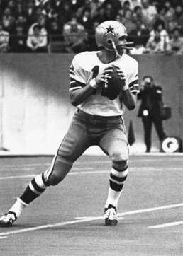 Former QB Roger Staubach of the Dallas Cowboys.