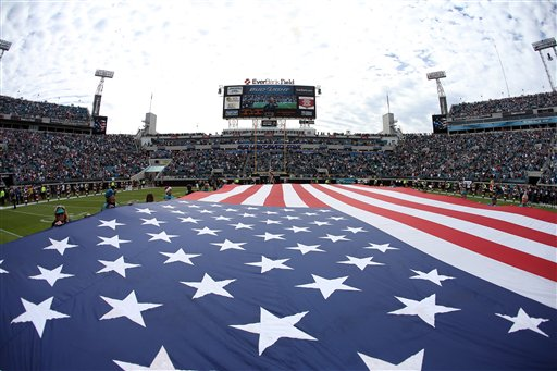 "Encore – ""NFL Films Presents: Giant American Flag"" on Fox Sports 1"