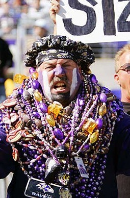 The one man who might have more Ravens passion than Ray Lewis does