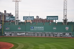 When the Red Sox and Patriots shared the Green Monster