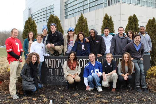 NFL Films' Fall Intern Class of 2012.