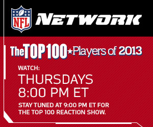 Tonight on NFL Network: More Top 100 of 2013Revealed!