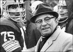 """This Date in Football: Vince Lombardi """"Turns"""" 100"""