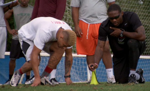Hey Rookie: Tyrann Mathieu works out with Patrick Peterson