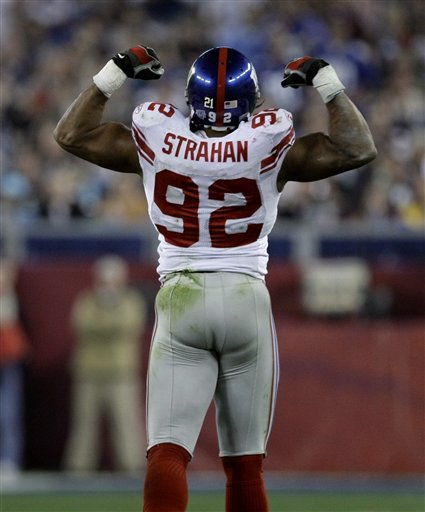 Michael Strahan was one of the most feared defensive ends of his era.