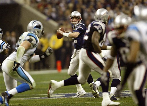 Will the Pats-Panthers matchup be as riveting as this epic Super Bowl clash was?