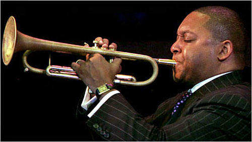 Wynton Marsalis is featured in the premiere episode of NFL FILMS DRAWN