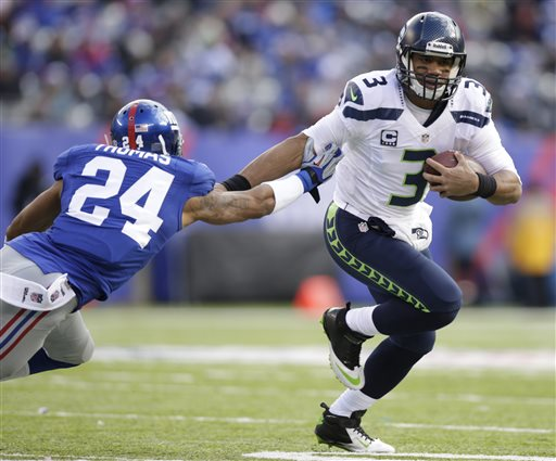 Will anyone slow Russel Wilson and the Seahawks' roll back to the site of their 23-0 drubbing of the Giants?
