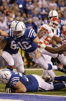 """Tonight on """"NFL Turning Point"""": Luck Leads Second-Greatest ComebackEver"""
