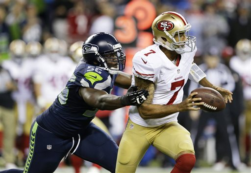49ers fans hope Kaepernick will fare better than he did the last time he went into Seattle