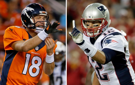 """NFL Top 10″ Brady vs. Manning Games – Sneak Peek"