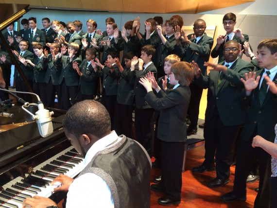 "EAGLES EMMANUEL ACHO and KEYSTONE STATE BOYCHOIR APPEAR IN NEW ""A FOOTBALL LIFE"""