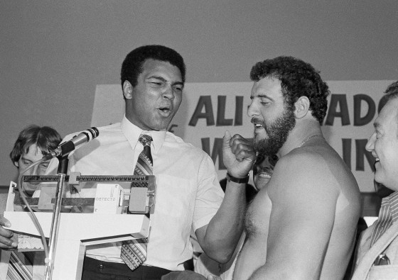 """A FOOTBALL LIFE"" BONUS: When Lyle Alzado Fought Muhammad Ali"